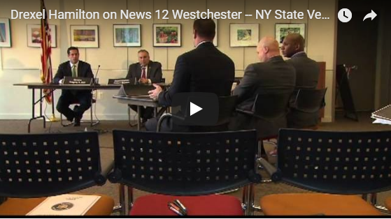 Drexel Hamilton on News 12 Westchester – NY State Veterans Bill
