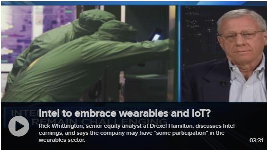 Semi Analyst Rick Whittington Discusses Intel on CNBC
