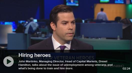 John Martinko Spotlights Drexel's Mission on CNBC