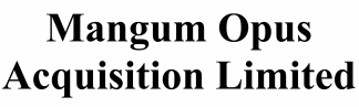 Magnum Opus Acquisition ECM- Mar21