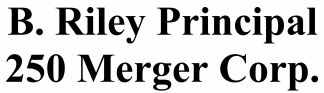 B. Riley Principal 250 Merger Corp