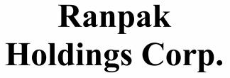 Ranpak Holdings Corp ECM- May21