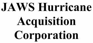 Jaws Hurricane Acquisition Corp ECM- Jun21