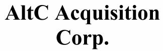 AltC Acquisition Corp. ECM- Jul21
